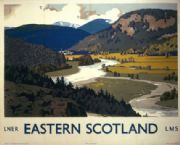 Scottish Railway Travel, Poster Eastern Scotland LMS